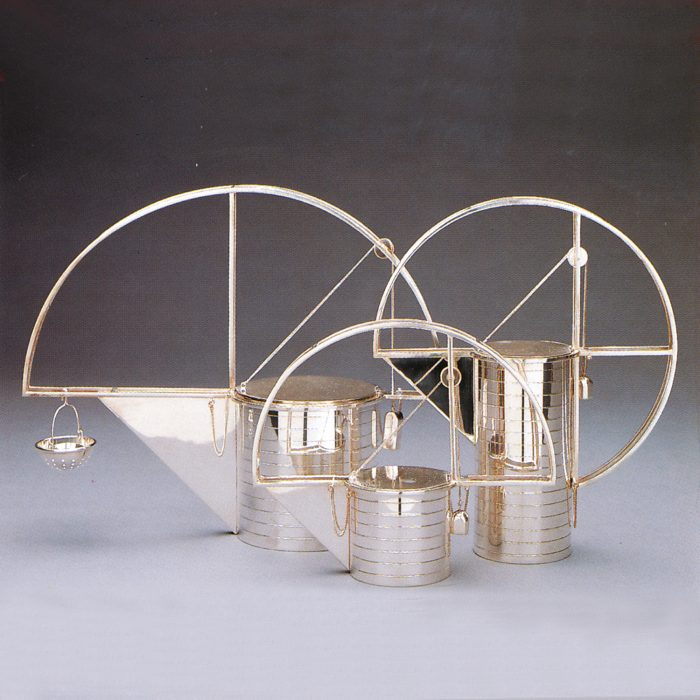 Tea and Coffee Service Costantino Dardi 1987