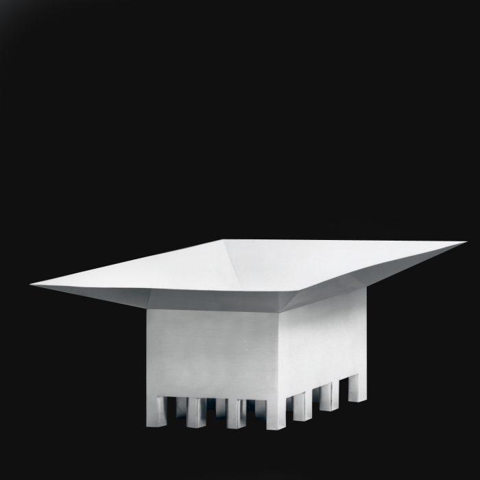 Rhombus Centerpiece Hans Hollein 1980