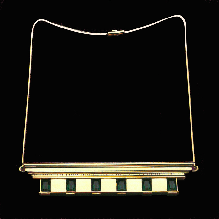 Necklace Stinley Tigerman 1986