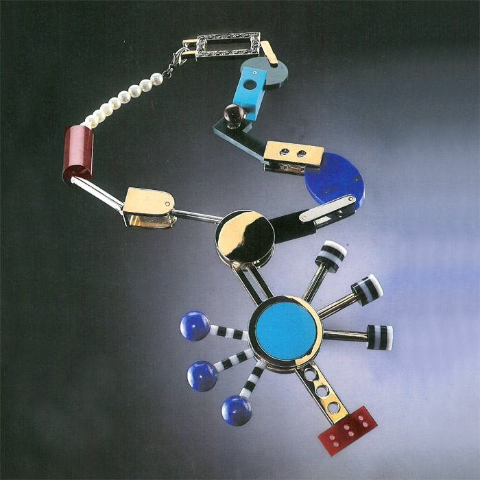 Necklace Michele De Lucchi 1985