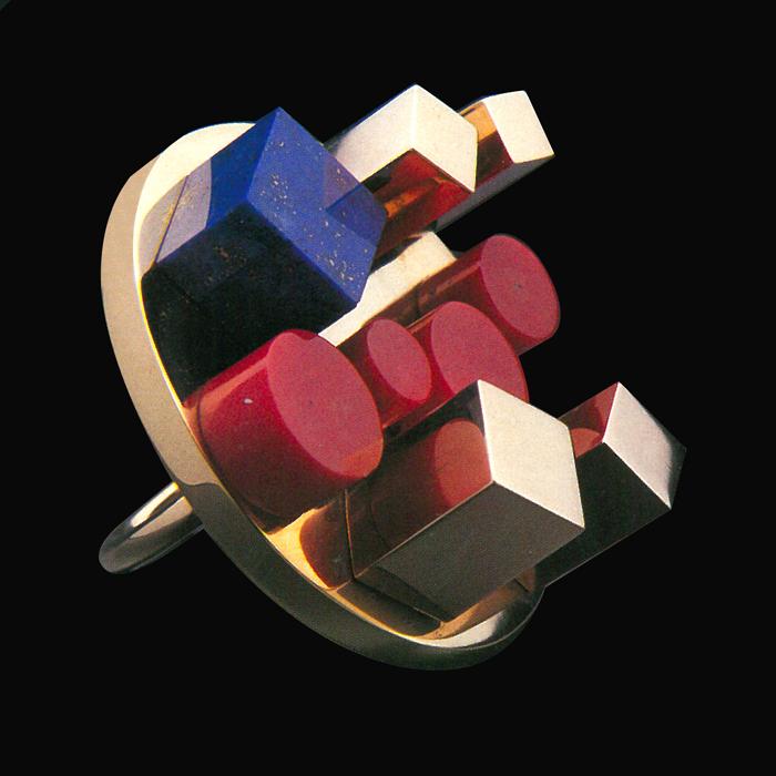 Ring Ettore Sottsass 1984