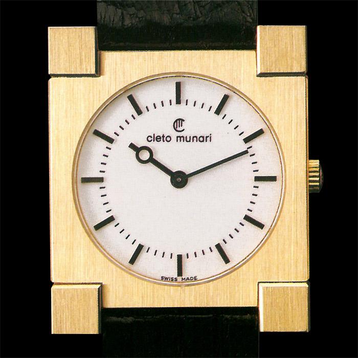 Gold Watch Ettore Sottsass 1985
