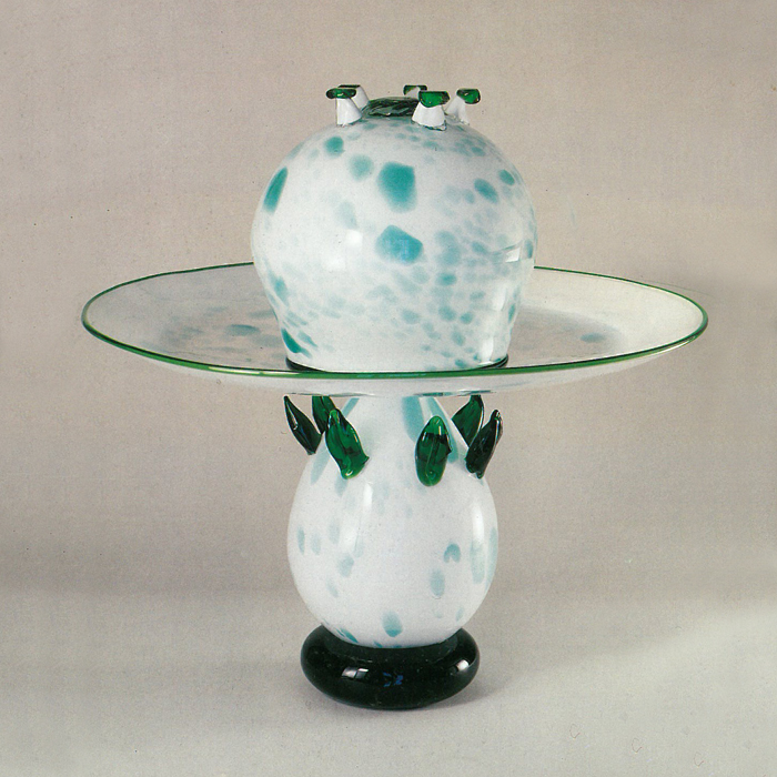 Vase with Bowl Izzika Gaon 1985