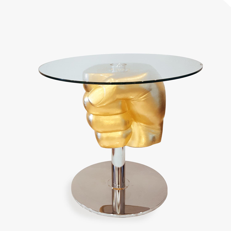 Coffee table fist cleto Munari